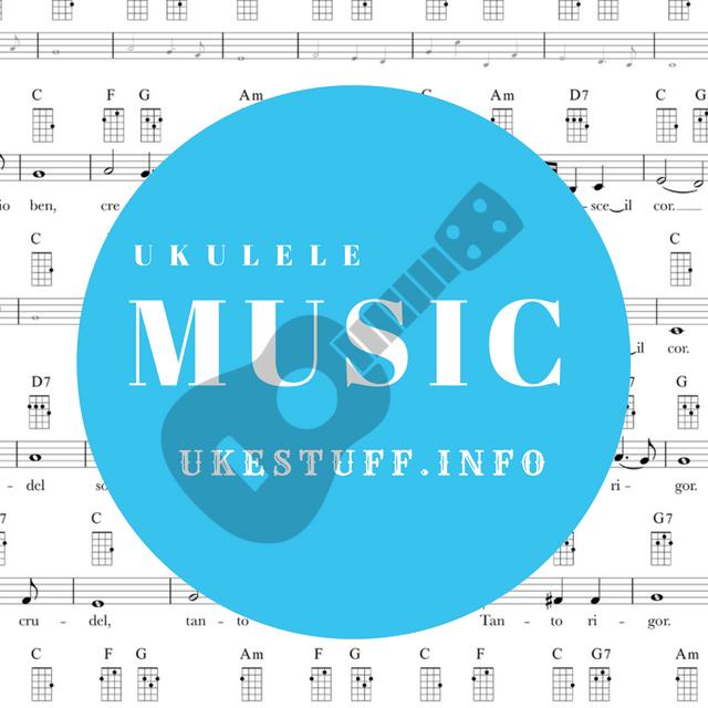 Ukulele Music Lead Sheets Ukestuff